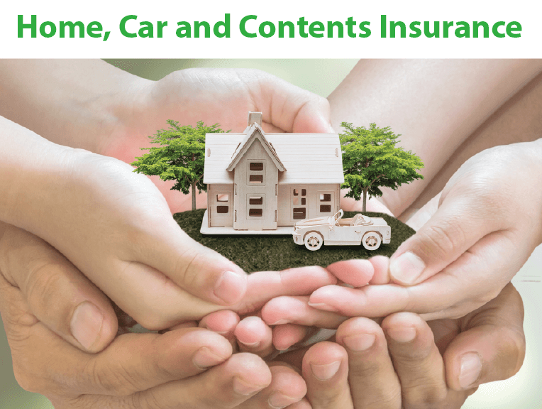 Home, Car and Contents Insurance